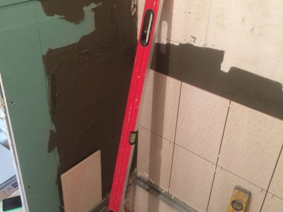 Ремонт совмещённого санузла (ванной комнаты) г. Новокузнецк ул. Ноградсакая д.1